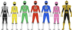 Requested: Networked Sentai Dataranger by Taiko554