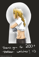 Thanks for 200+ Watcher! ~ by FlorideCuts