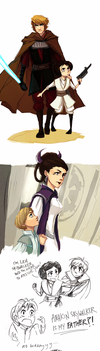 star wars rebel AU by shorelle