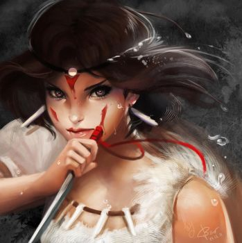 Princess Mononoke Bao ver by BaoVu