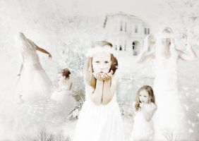 Garden Of Light (My Sisters And I) by Scarletmcd