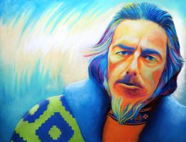Alan Watts by Roberto-Carrillo