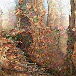 Deep Dream Infected Forest by HalTenny
