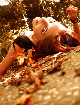 Autumn comes with a smile by AnaDeviant
