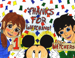 I'VE REACHED 100 WATCHERS!!! by WishExpedition23
