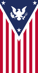 Third American Imperium Banner by Imperial-Ascendance