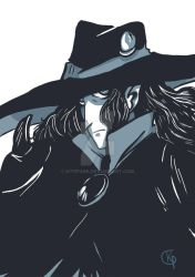 vampire hunter D by KitePark