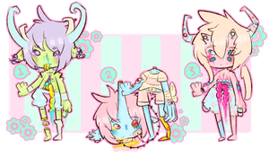 Offer: Monster Boy Adopts [Closed] by SugarSweetEclair
