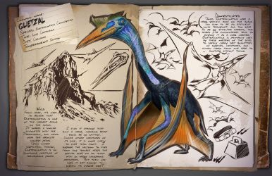 Ark: Survival Evolved Dossiers: Quetzal by DJDinoJosh