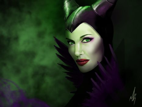 Maleficent by mribby294