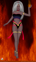 Sailor Senshi: Princess of Fire by LaKiraRee