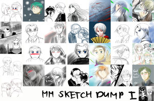 MM SketchDump 1 by witch-girl-pilar