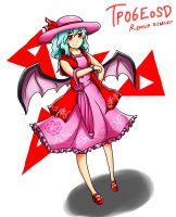 Touhou Project EoSD : Remilia Scarlet by Iormi
