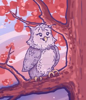 Autumn Owl by IulianThomas