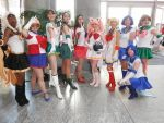 Sailor Senshi by DavisJes