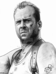 Bruce Willis by ArTestor