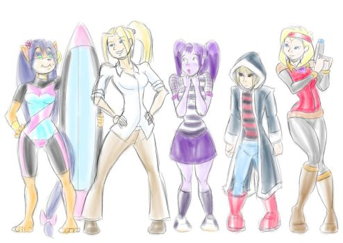 The Girls by Dasutobani