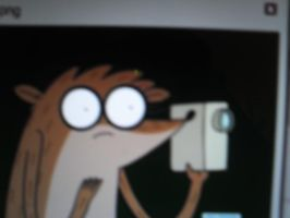 Rigby With Camera by RegularShowCP