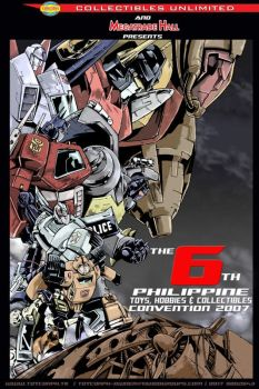 2nd teaser poster TOYCON 2007 by transformersph