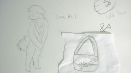 (OC) Snow Ball Ref? by FNOKitty
