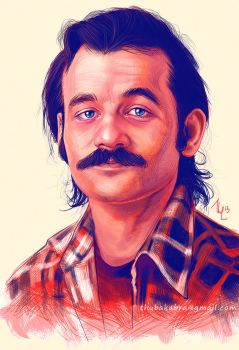 Young Bill Murray by Thubakabra