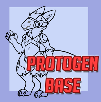 Protogen Base [.PSD ONLY] by 5kyc0der