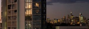 Sky House and the City by ximo