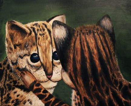 Ocelots by shahuskies