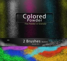 Colored Powder  Dust or granules by MattiaMc