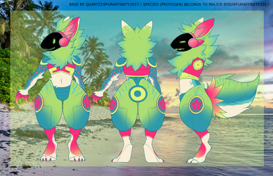 Summer Breeze Protogen AUCTION (CLOSED) by Derphound