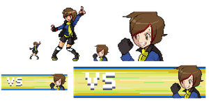 Pokemon Trainer Kegan: Sprite Ref