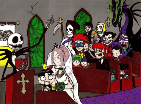 The Most Horrible Wedding by janiceghosthunter