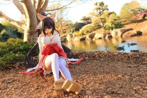 Shrine Maiden by Awesomealexis1