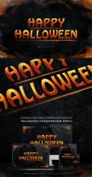 Happy Halloween Wallpaper package by wellgraphic