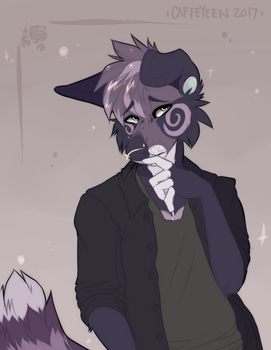 Trouble (Comm) by Caffeyeen