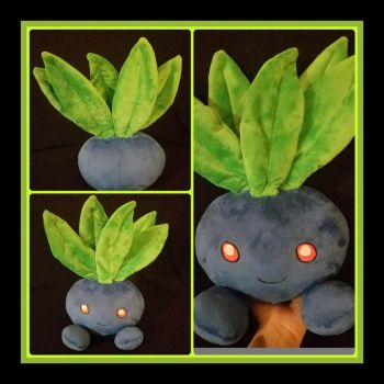Oddish Pokemon Standard Plush by PlushatiersINC