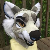 Shay Fursuit Head by Ariokkii