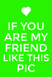 Like if you're my friend :3 by K1NG-KR3B