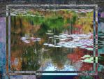 REFLECTIONS ON SUNFISH POND 2 by FOTOSHOPIC