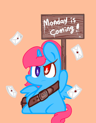 Monday is Coming! by ThatOnePeggles