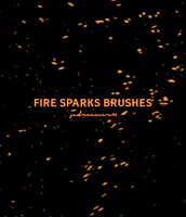 Fire Sparks Brushes by sadreamer01