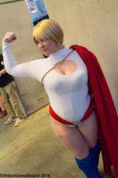 PAX East 2016 - Power Girl 2 by VideoGameStupid
