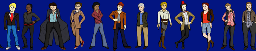 Gender Bender Doctor Who by dedicatedfollower467