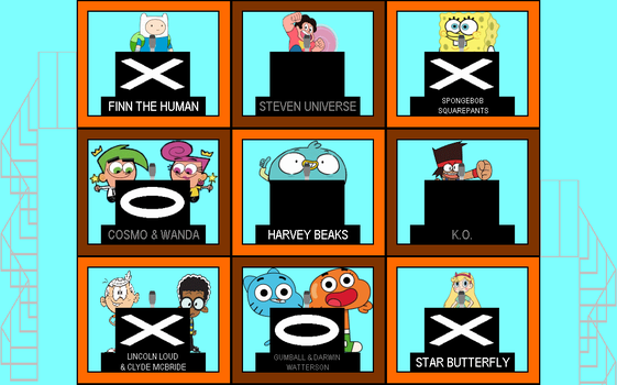 Cartoon Hollywood Squares by mrentertainment