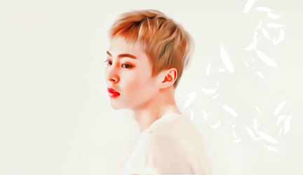 Ethereal Minseok by bubble-min