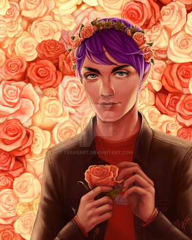 Roses by tbdoll