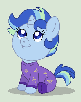 CG: Adorable Little Blueberry Baby by srbarker