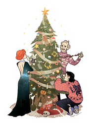 Happy holidays! by freestarisis