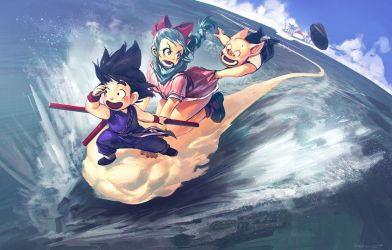 Dragon Ball fanart by Benlo