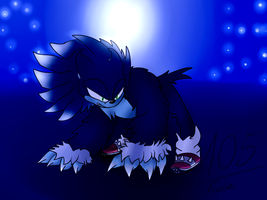 Sonic the Werehog [Sonic: Unleashed] by Foziz105